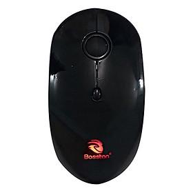 Chuột Không Dây Tặng Kèm Pin Sạc Mouse Bosston Q9 - HÀNG CHÍNH HÃNG