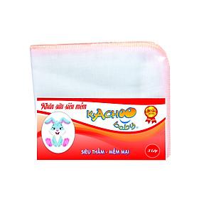 Khăn sữa siêu mềm KACHOOBABY 3 lớp (24xx28cm)