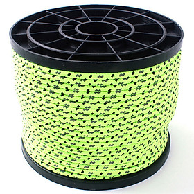 Night High Recognition 50M Reflective Rope Ourdoor 4MM Tent Line Fixed Rope PP Rope
