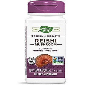 Nature's Way Reishi Standardized, 376 mg per serving, 100-Count