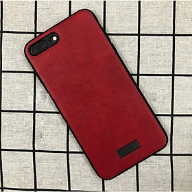 Ốp Lưng Da SULADA Viền silicon cho iPhone 8 Plus - Hàng Chính Hãng