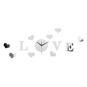 Sticker Gương Dán Tường LOVE