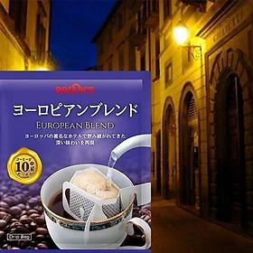 25 gói cà phê đen châu Âu kinh điển thiết kế túi lọc BROOK'S