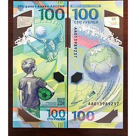 Đồng tiền polymer lưu niệm World Cup Nga 2018