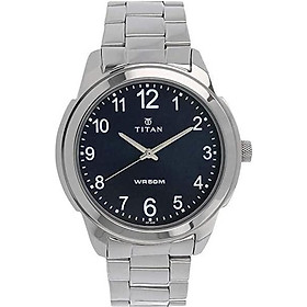 Titan Neo Men's Designer Watch - Quartz, Water Resistant, Leather/Stainless Steel Strap