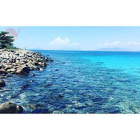 NHA TRANG: Tour 4 Đảo (Hòn Mun - Làng Chài - Bãi Tranh - Thủy Cung Trí Nguyên) Chất Lượng Cao Trọn Gói Xe Đưa Đón Khách Sạn + Canoe Ra Đảo + Cơm Trưa + Vé Tham Quan