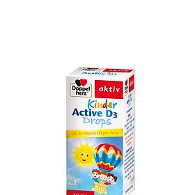 Thực phẩm bảo vệ sức khỏe Siro bổ sung Vitamin D3 cho trẻ Doppelherz Kinder Active D3 Drops (Lọ 30ml)