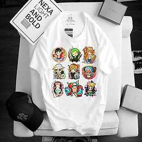 Áo One Piece Luffy ATT-10, Áo thun Anime Manga One Piece Monkey D. Luffy Unisex Nam Nữ