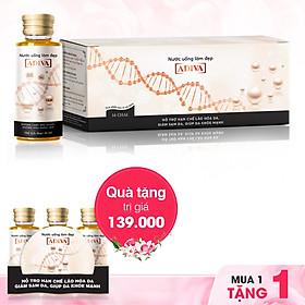 Dưỡng chất uống làm đẹp Collagen Adiva (14 lọ x 30ml/Hộp) - Tặng 3 lọ Collagen Adiva