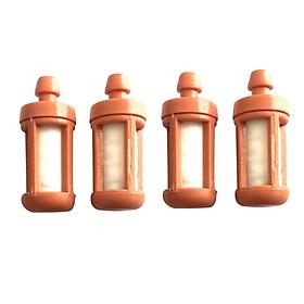 4pcs Orange Fuel Filter For STIHL TS400 TS410 TS420 TS650 TS700 Chainsaw