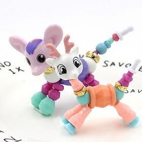 Bộ 02 vòng tayTwisty Petz hình thú trang sức và đồ chơi cho bé