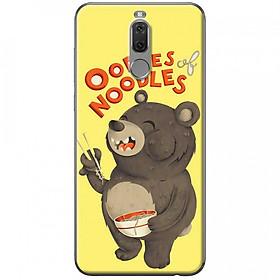 Hình đại diện sản phẩm Ốp lưng dành cho Huawei Nova 2i mẫu Gấu ăn mì