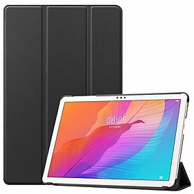 Bao Da Cover Dành Cho Máy Tính Bảng Huawei MatePad T10s 10.1 Inch AGS3-L09 / AGS3-W09 Hỗ Trợ Smart Cover