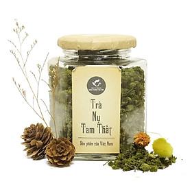 Trà nụ hoa tam thất Thái Minh (100g) - Cải thiện giấc ngủ, tốt cho tim mạch và huyết áp
