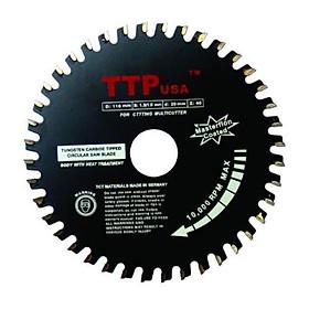 Lưỡi cắt nhôm gỗ sắt đa năng TTPusa 110mm