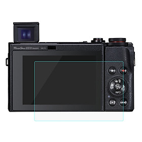 PULUZ 2.5D 9H Tempered Glass Film for Canon PowerShot G5 X Mark II/PowerShot G7 X Mark III - Transparent
