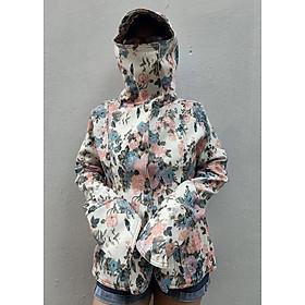 ÁO KHOÁC CHỐNG NẮNG KAKI BÔNG - Áo khoác nữ vải Kaki Bông mềm, mịn Chống nắng tốt có Tay áo dài và Mũ che đầu tiện lợi