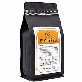 Cà Phê Rang Xay Nguyên Chất - 90S Coffee Vietnam | Bí Quyết 03 | Công Thức Phối: Moka Cầu Đất + Robusta | 100% Cà Phê Sạch | Đậm Đà - Ít Chua - Hậu Ngọt