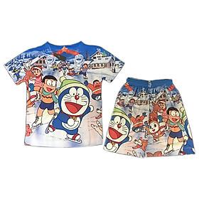 Đồ Bộ Bé Trai Hình Doraemon In 3D 10