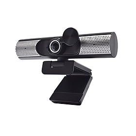 1080P HD Webcam Full HD 1080P Camera Manually Focus Built-in Microphone Built-in Speakers Plug and Play for Online Class