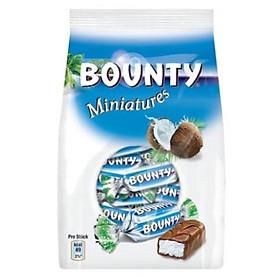 Combo 3 gói Kẹo Socola dừa Bounty Miniatures gói 150gr