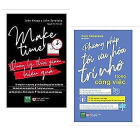 Combo 2 cuốn: Quản Lý Thời Gian Hiệu Quả + Phương Pháp Tối Ưu Hóa Trí Nhớ Trong Công Việc / Bộ sách giúp cuộc sống của bạn dễ dàng hơn