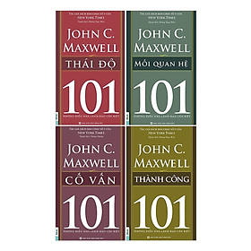 Combo Sách 101 - Những Điều Nhà Lãnh Đạo Cần Biết (4 Cuốn) - Bộ 1 (Tặng kèm Kho Audio Books)