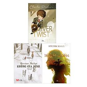 Combo Không Gia Đình - Trong Gia Đình - Oliver Twist (Tái Bản)