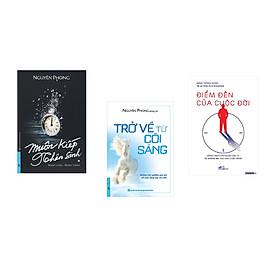 Combo 3 cuốn sách:  Muôn Kiếp Nhân Sinh + Trở Về Từ Cõi Sáng + Điểm đến của cuộc đời