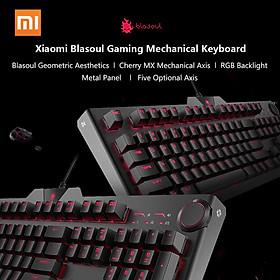 Bàn phím cơ chơi game Xiaomi Blasoul Y520 104 Phím RGB Backlit 1.8M Phiên bản có dây