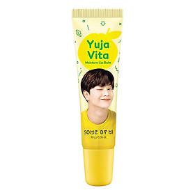 Son dưỡng môi ẩm mượt, mềm mại, ngừa thâm môi Some By Mi Yuja Vita Moisture Lip Balm 10g