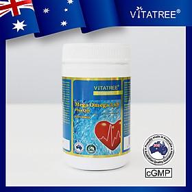 Viên Uống Omega 369 Tăng Cường Thị Lực, Giảm Nguy Cơ Mắc Các Bệnh Tim Mạch Vitatree Omega 369 bổ sung Q10 - Hộp 120 viên