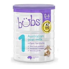 Sữa dê Bubs số 1 (800gr) – Sữa bột chính hãng nhập khẩu Úc cho bé sơ sinh – 6 tháng