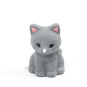 Bộ 2 Gôm Tẩy Iwako Hình Mèo - Mẫu 1