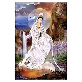 Tranh Phật Giáo Quân Âm Hiện Thân 2366