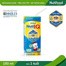 Thùng 48 hộp Sữa Bột Pha Sẵn Nuti IQ Gold 180ml