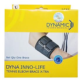 Đai Cẳng Tay Cao Cấp | Dây đai cẳng tay cho tennis, cầu lông, bóng bàn Dyna Infolife Xtra