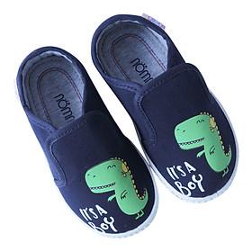 Giày Slipon Bé Trai Nomnom EPG1935 Khủng Long