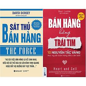 Bộ Sách Đột Phá Tư Duy Bán Hàng Cực Hay Mà Jack Ma Và Các Nhà Bán Hàng Vĩ Đại Khuyên Đọc - Cung Cấp Cho Bạn Những Kỹ Năng Bán Hàng Hoàn Chỉnh Và Chi Tiết Nhất, Cách Thức Nắm Bắt Tâm Lý Khách Hàng Và Xây Dựng Kịch Bản Bán Hàng Để Đột Phá Doanh Số (  Sát Thủ Bán Hàng + Bán Hàng Bằng Trái Tim ) tặng kèm bookmark Sáng Tạo