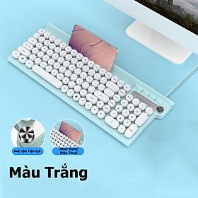 Bàn phím có dây LANGTU L3 với Nút Vặn Tăng Giảm Âm Lượng tiện lợi - Hàng Chính Hãng