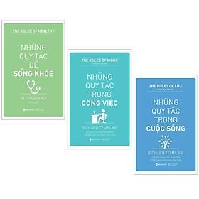 Combo 3 cuốn sách hay nhất về kĩ năng sống : Những Quy Tắc Để Sống Khỏe + Những Quy Tắc Trong Công Việc +  Những Quy Tắc Trong Cuộc Sống ( Tặng kèm Postcard Happy Life)