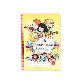 Vở chép nhạc School Hồng Hà 0503 (10 quyển) - Giao màu ngẫu nhiên