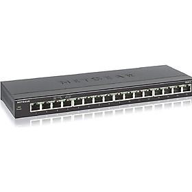 Bộ Chia Mạng Để Bàn 16 Cổng 10/100/1000M Gigabit Ethernet Unmanaged Switch Netgear GS316 - Hàng Chính Hãng
