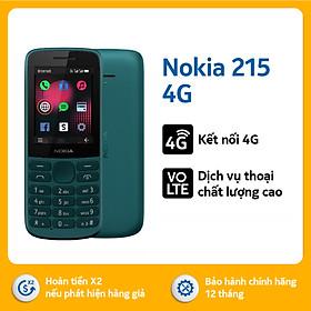 Điện thoại Nokia 215 4G – Hàng chính hãng