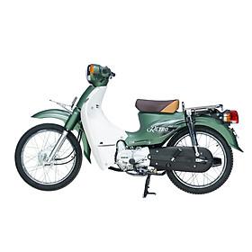 Xe Máy 50cc DK Retro - Màu Xanh Rêu Sần