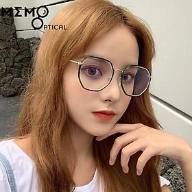 Gọng Kính Cận Hàn Quốc Đa Giác Hibao2021 -Memo Optical