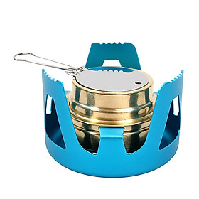 Portable Outdoor Alcohol Stove Burner Lightweight Furnace for Camping Picnic