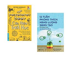 Combo 2 cuốn sách: Cửa hiệu triết học + 12 tuần phóng thích năng lượng sáng tạo