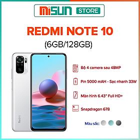 Điện Thoại Xiaomi Redmi Note 10 (6GB/128GB)- Hàng Chính Hãng