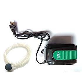 Máy sủi khí tạo oxi cho bể cá cảnh sobo SB 1102 + dây sủi + quả sủi